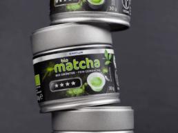 Branding, Packaging und Kommunikation EMCUR bio matcha