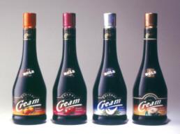 Branding und Packaging BOLS Cream Range