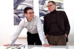 Vater und Sohn starten als Duo in die Zukunft: