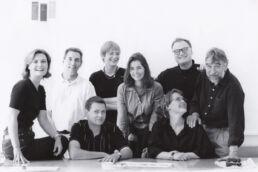 Mitarbeitern im Sommer 1998
