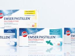 Re-Design EMSER Pastillen